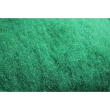 Mint carded wool
