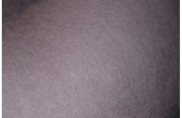 Grey Violet color carded wool