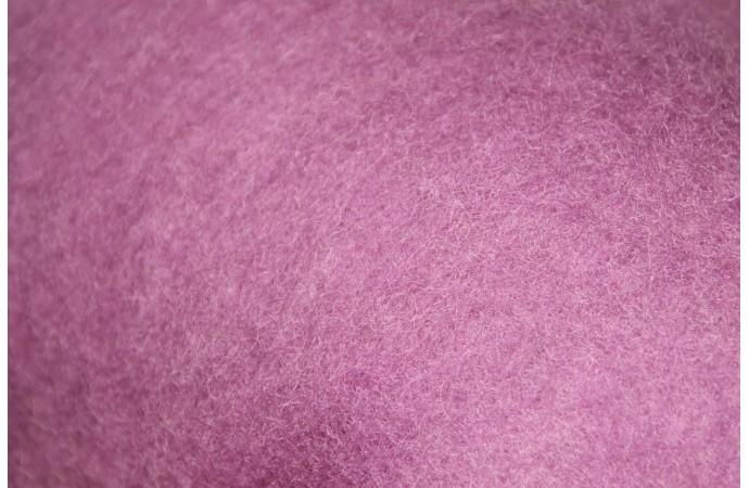 Light Violet carded wool