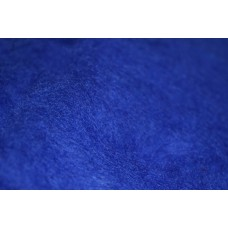 Cornflower color carded wool