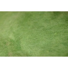 Light green color carded wool