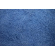 Light blue color carded wool