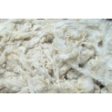 Raw wool for