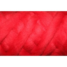Red Color wool tops