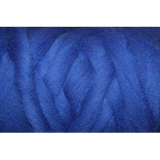 Cornflower Color wool tops