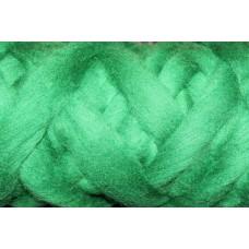 Green Color wool tops