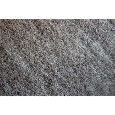 Grey cacao tirol carded wool